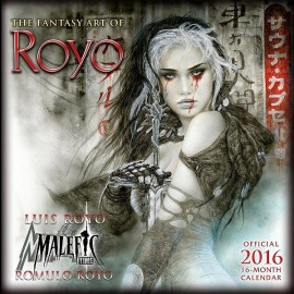 The fantasy art of Luis Royo - 2016 Calendar