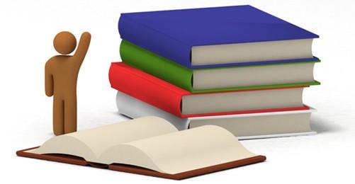 Knihy - ilustrační