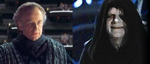 Palpatine = Darth Sidious