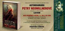 Pozvánka na křest Zjizvených Petry Neomillnerové