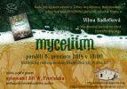 Pozvánka na křest knihy Mycelium IV: Vidění