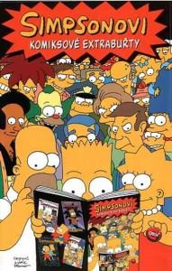 Simpsonovi - Komiksové extrabuřty