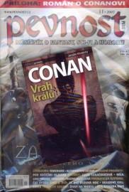 Pevnost 11/2007 + kniha Conan - Vrah králů