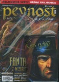 Pevnost 01/2007 + kniha Čas rytířů